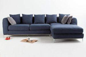 Top 5 canap s en soldes mobilier canape deco - Canape pied metal ...