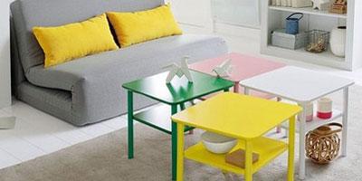 Meubler et organiser son salon mobilier canape deco - Table basse petit prix ...