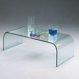 Les tables basses verre mobilier canape deco - Table salon en verre ...