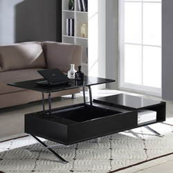 quel table basse relevable mettre avec un canape noir meuble de salon contemporain. Black Bedroom Furniture Sets. Home Design Ideas