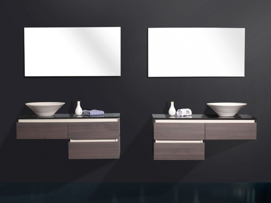 design meubles salle de bain. Black Bedroom Furniture Sets. Home Design Ideas