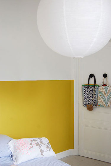 Deco Chambre Mur Jaune Mr Mrs Clynk ...