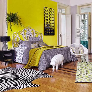 Maisons Du Monde Inspiration Exotique Mur Jaune, Rond Peinture Jaune Deco  Chambre Cotemaison Blanc ...