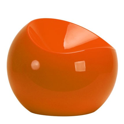 Pouf Ball Chair orange copyright Mase in Design