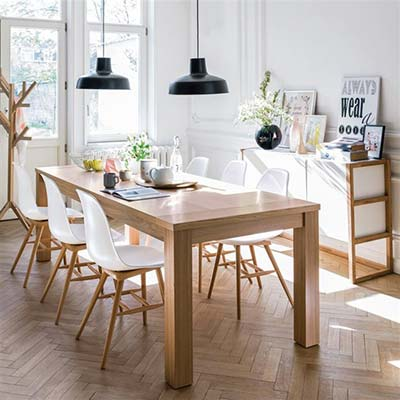 Style scandinave mobilier Salle a manger la redoute