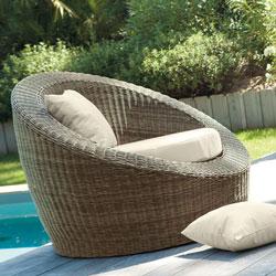 Fauteuils De Jardin Ronds Mobilier Canape Deco