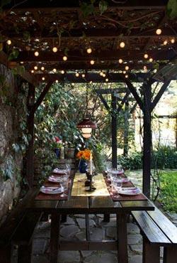 Acheter une guirlande style guinguette mobilier canape deco for Guirlande exterieur jardin