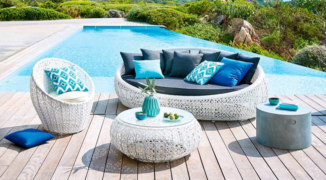 Beautiful Salon De Jardin Blanc Maison Du Monde Ideas - Awesome ...
