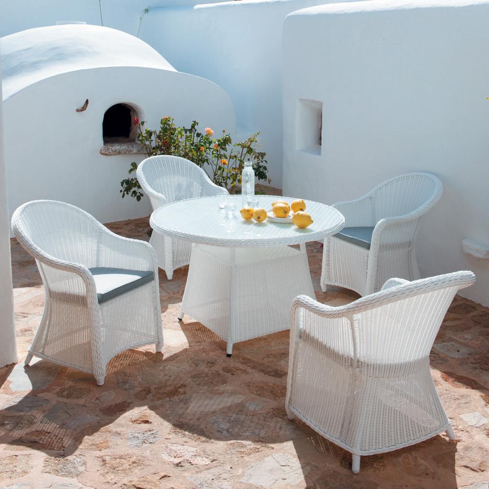Salle A Manger De Jardin En Resine Tressee salle à manger résine tressée - mobilier canape deco